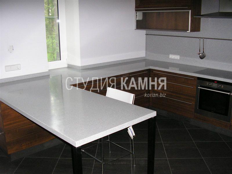 Угловая столешница стола купить кухонный стол из камня Волоколамск