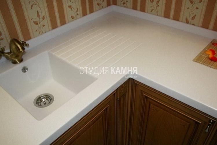 Столешница с литой мойкой цена кухонная столешница защита от сколов