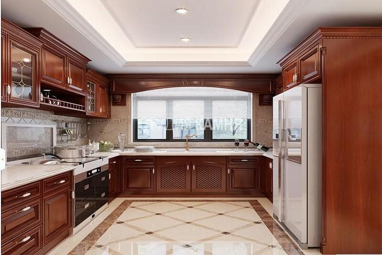 Столешница из белого искусственного камня с мойкой для кухни