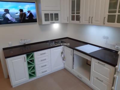 Столешница для кухни из акрилового камня Staron цвет EC596-1